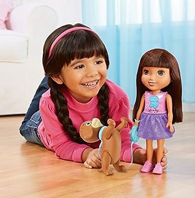 Fisher-Price Nickelodeon Dora and Friends Train and Play Dora and Perrito from Fisher-Price