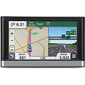Garmin nu00fcvi 2557LMT 5-Inch Portable Vehicle GPS with Lifetime Maps and Traffic