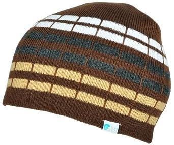 d3d2ea6e11c Alki i cube mens womens warm beanie snowboarding winter hats - Brown