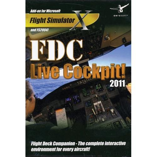 FDC Live Cockpit 2011 for FSX & FS2004 - Windows