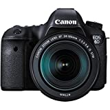 Canon EOS 6D Digital SLR Camera Body + EF 24-105mm IS STM & 70-300mm IS USM Lens + 64GB Card + Backpack + Flash + Battery/Charger + Grip + Filters Kit