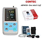 CONTEC Ambulatory Blood Pressure Monitor+Software 24h NIBP Holter(one Adult Cuff) (Tamaño: one adult cuff)