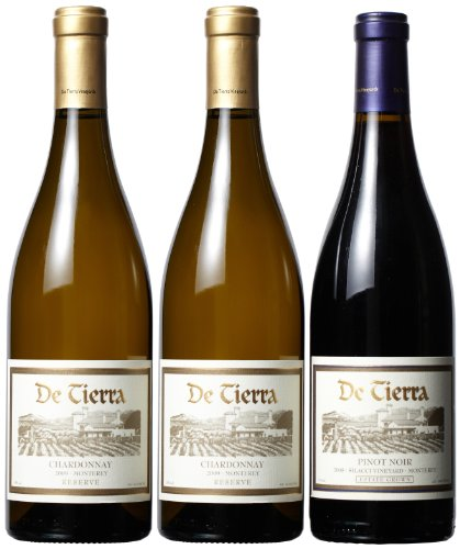 De Tierra  Vineyards Thanksgiving Special Jumbo Mixed Pack, 3 x 750 mL
