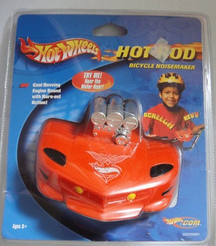 Hot Wheels Hot Rod Bicycle Noisemaker
