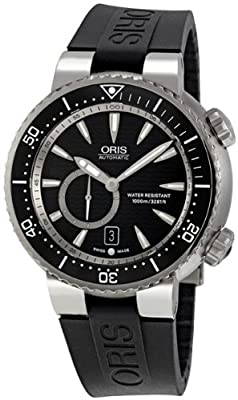 Oris Titan Divers Small Second Date Automatic Watch 643-7638-7454RS