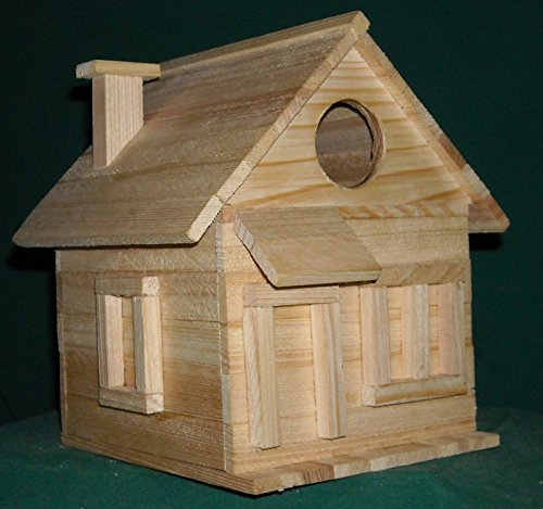 NEW Cottage Bird House Kits for Children and Adults Hand made in USA (Handmade Bird Houses compare prices)