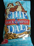 DISNEY PARKS EXCLUSIVE : Chip & Dale Mickey Pretzels 2oz / 57g