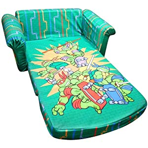 Teenage Mutant Ninja Turtle Flip Open Sofa Lounger Chair Tmnt from Marshmallow Furniture