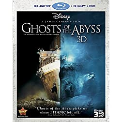Ghosts of the Abyss 3D (Three-Disc Combo: Blu-ray 3D/Blu-ray/DVD)