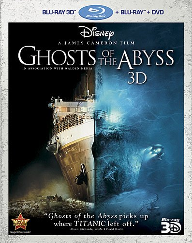 Cover art for  Ghosts of the Abyss 3D (Three-Disc Combo: Blu-ray 3D/Blu-ray/DVD)