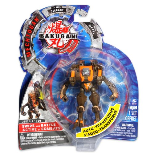 Bakugan Mechtogan Deezall (Colors and Styles May Vary) - 1