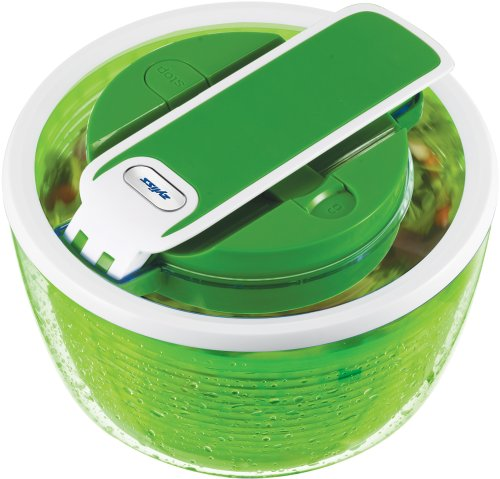 Zyliss Zyliss Smart Touch Salad Spinner 2-3 Servings, Green