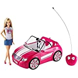 Barbie motorized cruisin 39 car vehicle for Motorized barbie convertible car