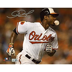 Adam Jones Baltimore Orioles Autographed 8
