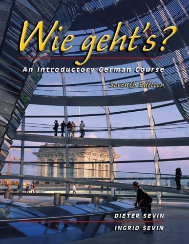 Wie geht's?: An Introductory German Course (with Audio CD)
