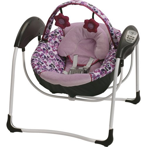 Graco Glider Petite Gliding Swing, Pammie front-998040
