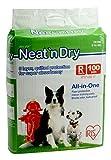 IRIS Neat 'n Dry Premium Pet Training Pads, Regular, 100-Count