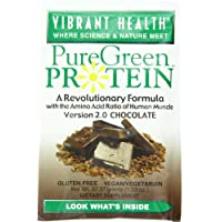 Vibrant Health - Pure Green Protein Powder Chocolate 10 Packets