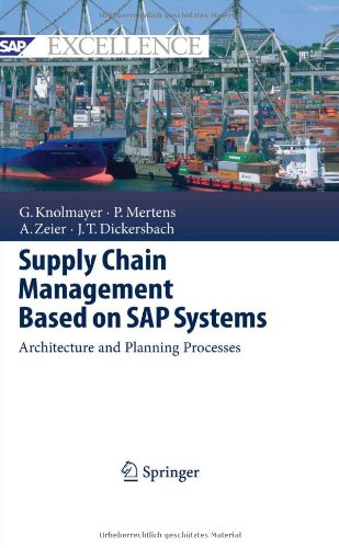 Supply Chain Management Based on SAP Systems: