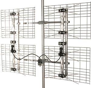 Antennas Direct Multi-Directional HDTV UHF Antenna Bowtie Design Weatherproof Construction