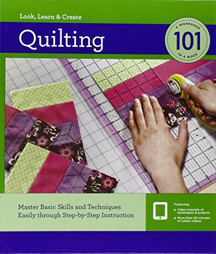 Quilting 101: Master Basic Skills and Techniques Easily through Step-by-Step Instruction (New Comprehensive Guide To Sewing compare prices)