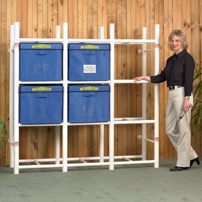 Bin Warehouse DFAE2MBW0431 Storage System for 12-Totes (Warehouse Storage compare prices)