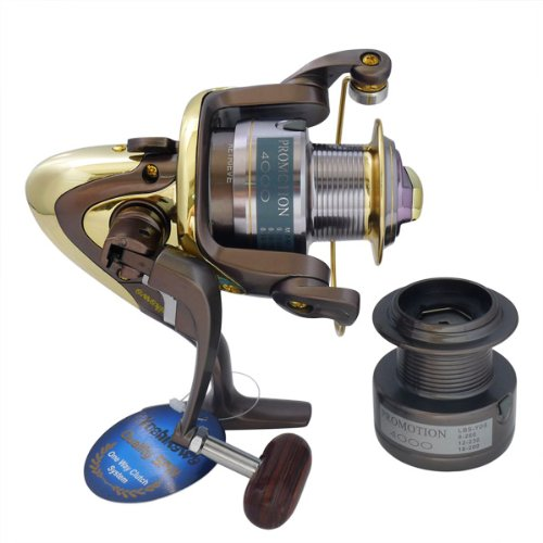 Super Fishing Bass Spinning Reel New PS4000 R21