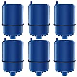AQUACREST Faucet Water Filter Replacement for PUR RF-9999, 6 Pack