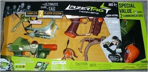 Lazer Tag Complete Two-player System Gift Set