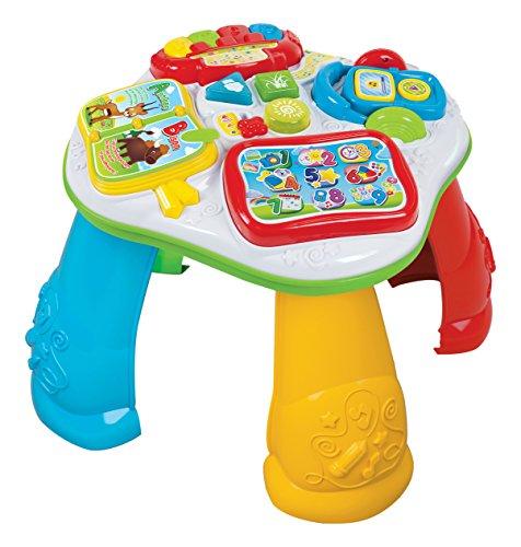 Clementoni - 52131.9 - Tavolo interattivo per bambini, 12-36 mesi [Lingua francese]