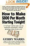 How to Make $800 Per Month: Starting...