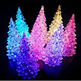 Domire Color Changing Christmas Decoration Night Light Tree (Tree, 1)