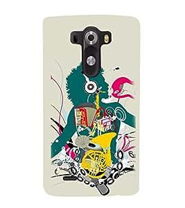 Vizagbeats Inbody Music Back Case Cover for LG G3::LG G3 D855