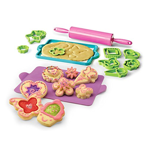 Real Cooking Deluxe Cookie Baking Set - 25 Pc. Kit Includes Sprinkles, Candy, and Mixes (Cooking Kids Set compare prices)