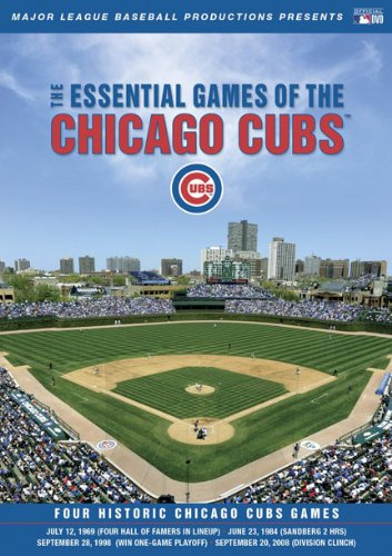Cover art for  Essential Games of the Chicago Cubs