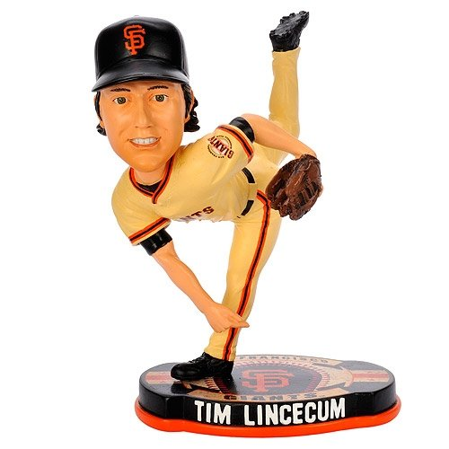 Tim Lincecum San Francisco Giants MLB Baseball Base