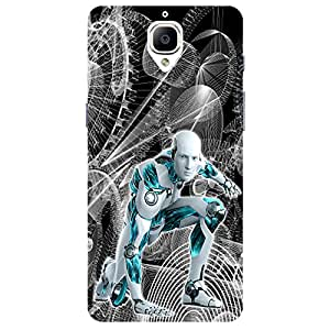 ROBO - Mobile Back Case Cover For One Plus 3
