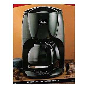 Melitta Coffee Maker 12 Cup : Amazon.com: Melitta ME12CDB 12-Cup Programmable Coffee Maker: Kitchen & Dining