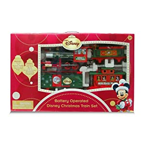 Disney Christmas Train Set with Light and Sound - Characters Move up & Down! at Sears.com