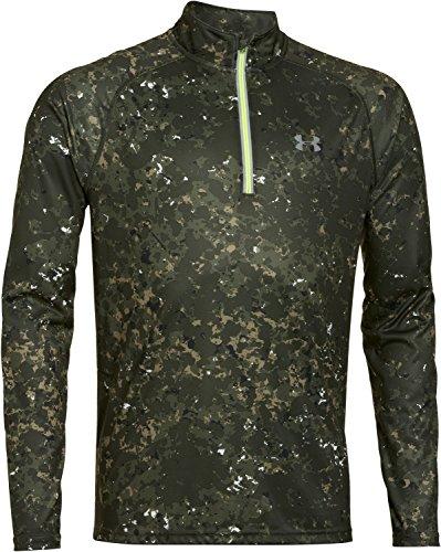under-armour-herren-running-shirt-langarm-promise-land-1-4-zip-rough-green-l