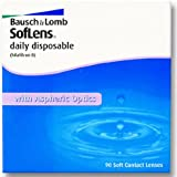Soflens daily disposable Tageslinsen weich, 90 Stück / BC 8.6 mm / DIA 14.2 / -4,25 Dioptrien