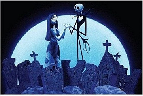 Lowest Price! Disney Original Nightmare Before Christmas Pillow Case Reversible Jack Sally