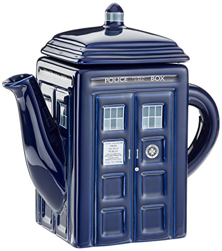 Dr. Who Tardis Teapot (Novelty Teapots compare prices)