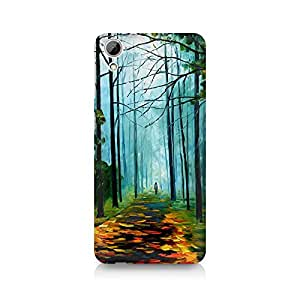 Mobicture Girl Abstract Premium Printed Case For HTC Desire 820