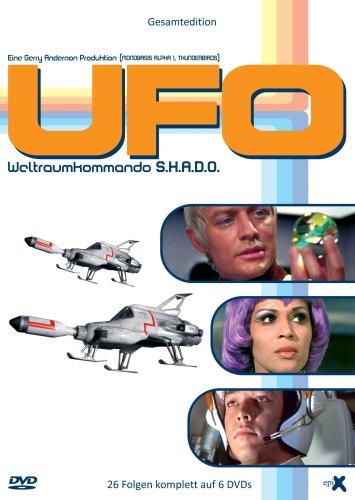 UFO - Weltraumkommando S.H.A.D.O. (Gesamtedition, 26 Folgen) [6 DVDs]