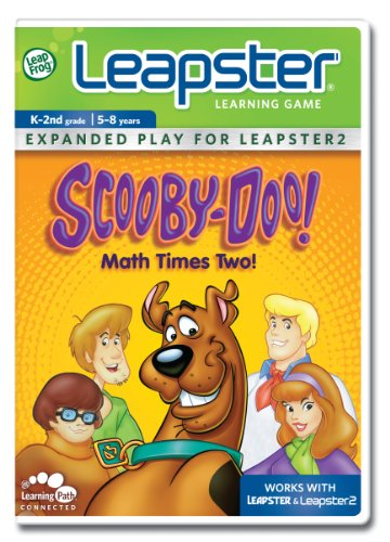 Leapfrog Leapster Learning Game: Scooby - Doo, Math Times Two - 1