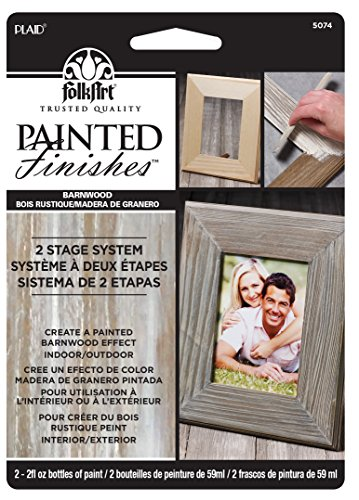 FolkArt Painted Finishes Barnwood Kit