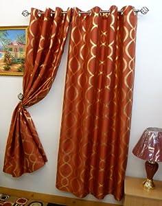 lafayette 56 x 84 faux silk metallic print