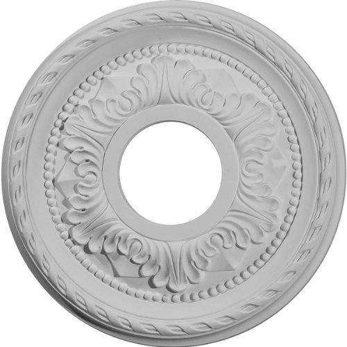 Ekena Millwork CM11PM 11 3/8-Inch OD x 3 5/8-Inch ID x 7/8-Inch Palmetto Ceiling Medallion