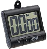 TAUT Digit Electronic Digital Kitchen Timer Cooking Timers Clock LCD Display